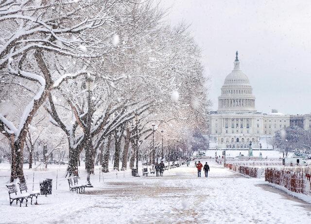 بارش برف، سخنرانی سیاست خارجی بایدن را لغو کرد