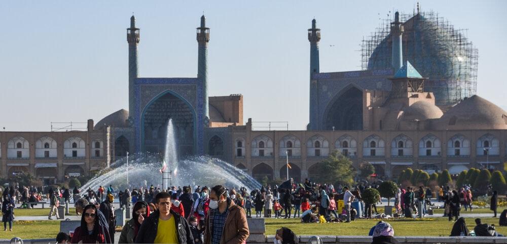 تصاویر| مرکز شهر اصفهان در روزهای کرونایی