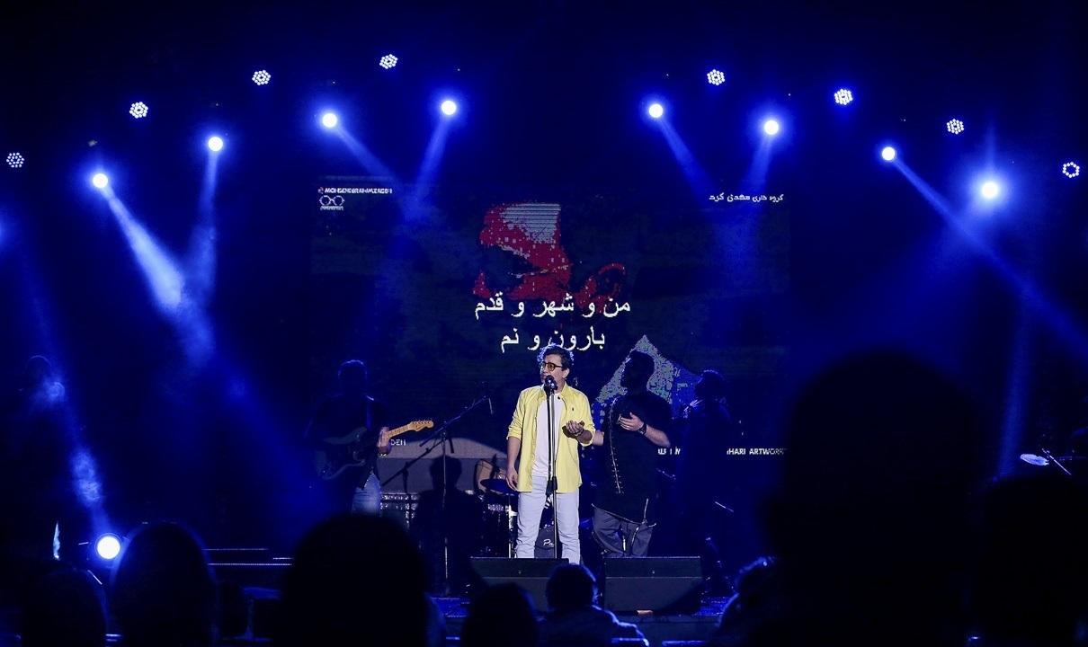 تصاویر| کنسرت موسیقی محسن ابراهیمزاده در کیش