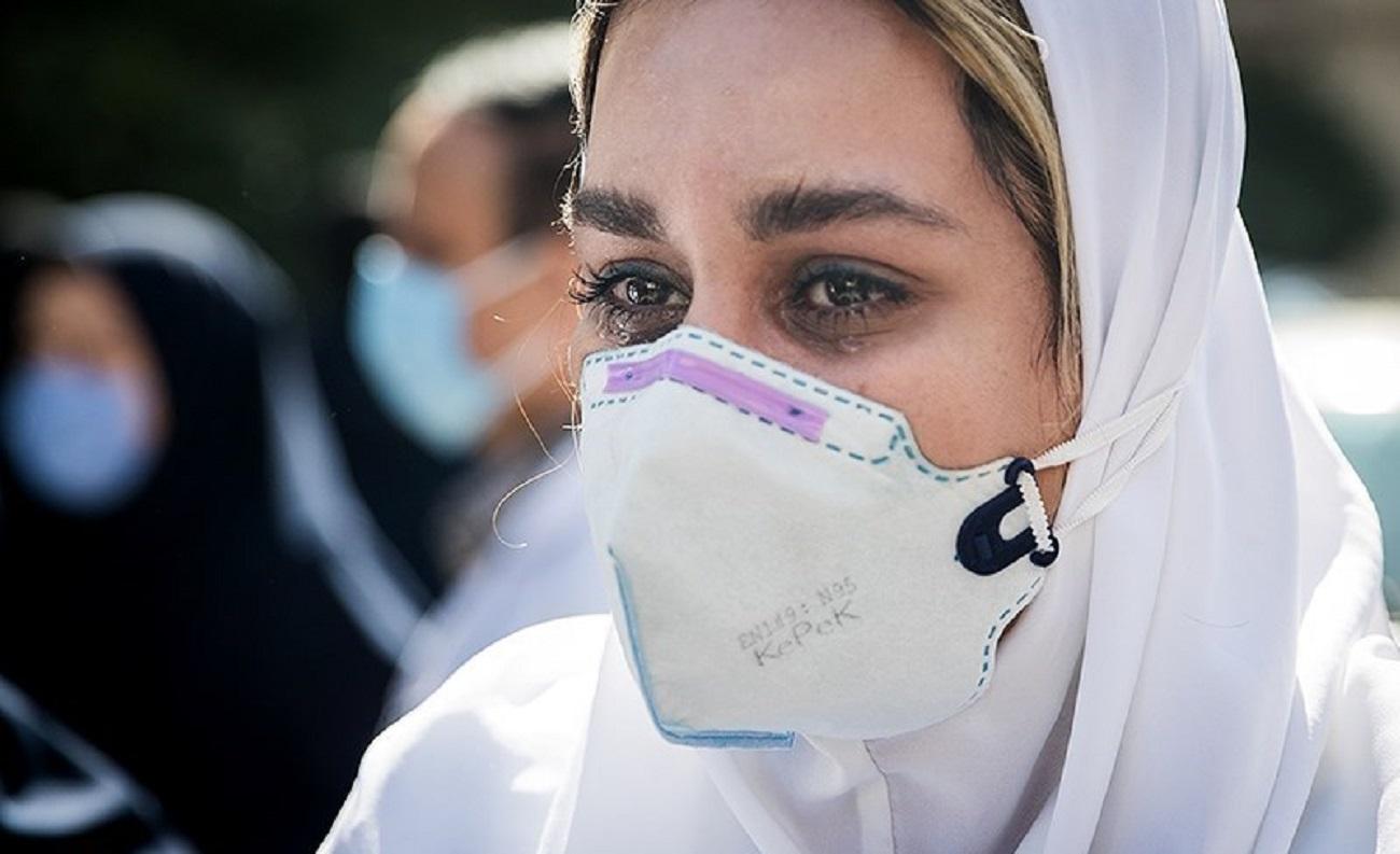 تصاویر| اشکهایی برای مهشید گودرز، پرستار فداکار