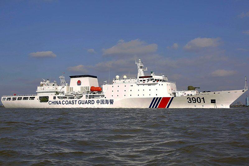 چین به گارد ساحلی اجازه شلیک به کشتی های خارجی را داد