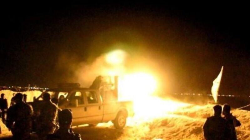 حمله داعش به مواضع تیپ ۲۲ سازمان الحشد الشعبی/۱۰ نیروی الحشد الشعبی شهید شدند