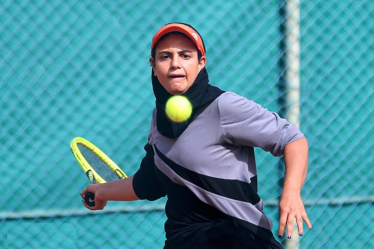 تصاویر  فینال مسابقات تنیس زنان در کیش