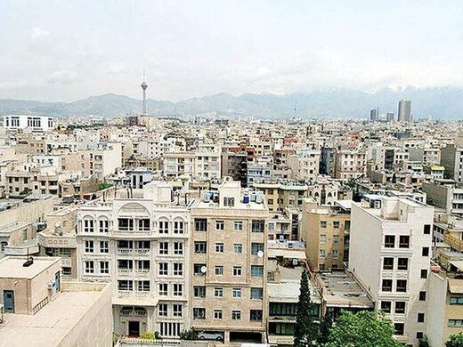 آپارتمان های 70 تا 80 متری پایتخت چند؟