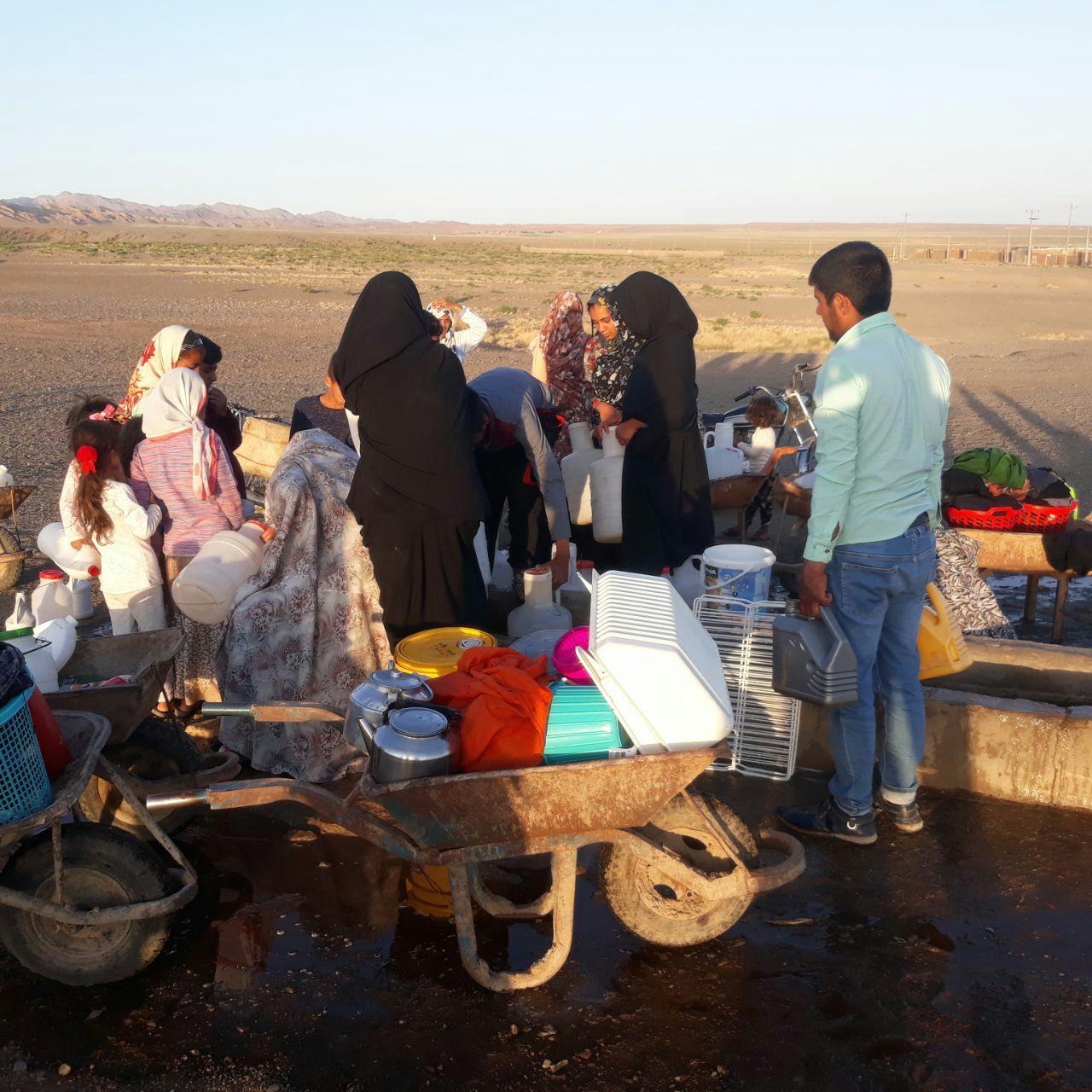 بشیرآباد تربت جام در تب بی آبی میسوزد/ سقط جنین پنج مادر باردار برای تهیه آب آشامیدنی
