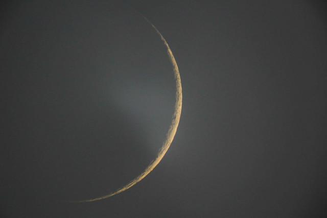 زمان رویت هلال ماه شوال در غروب شنبه 3 خرداد است