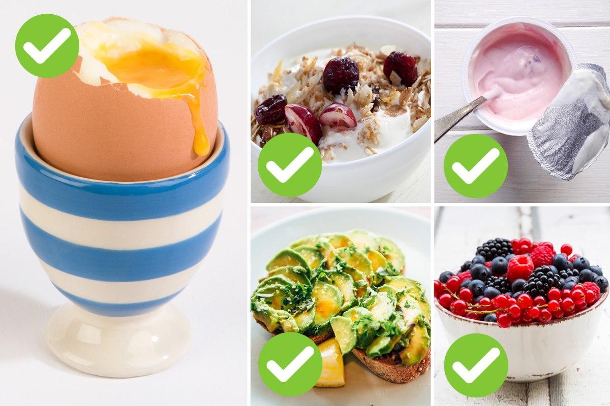 ۵ صبحانه موثر برای کاهش وزن و از بین بردن چربی دور شکم