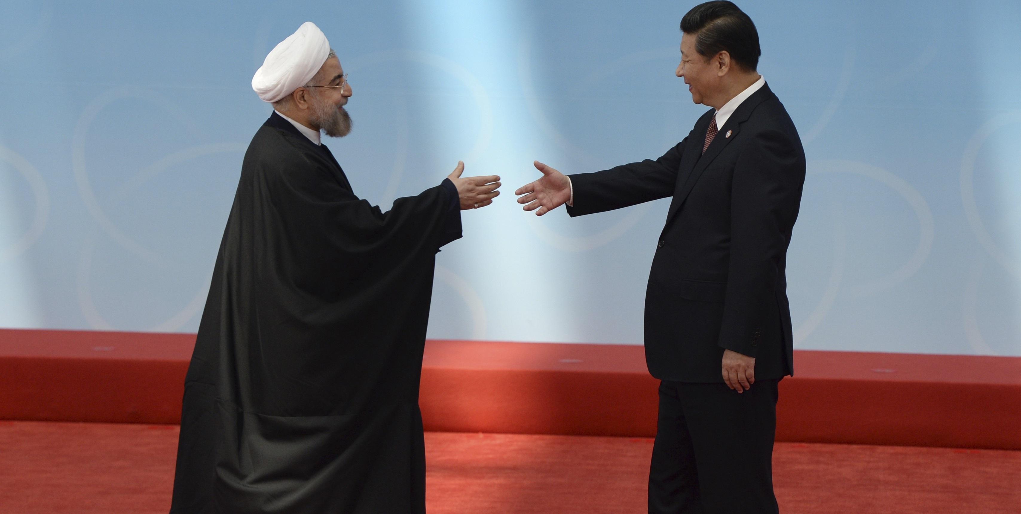 چرخش ایران (IRAN) به شرق