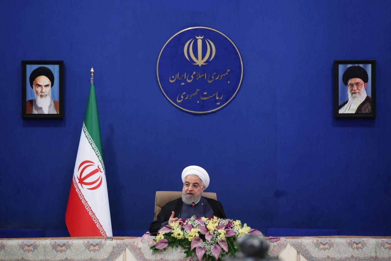 وعده روحانی فراهم کردن زمین ارزان قیمت برای افراد کمتوان و هشدار برجامی به آمریکا