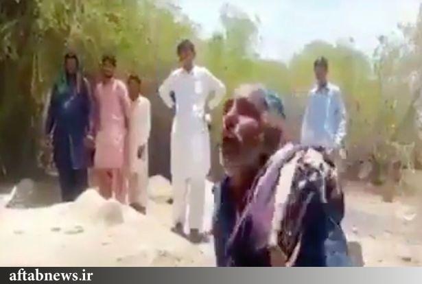 عکس| سنگسار و مثله کردن یک زن توسط همسر و برادران!