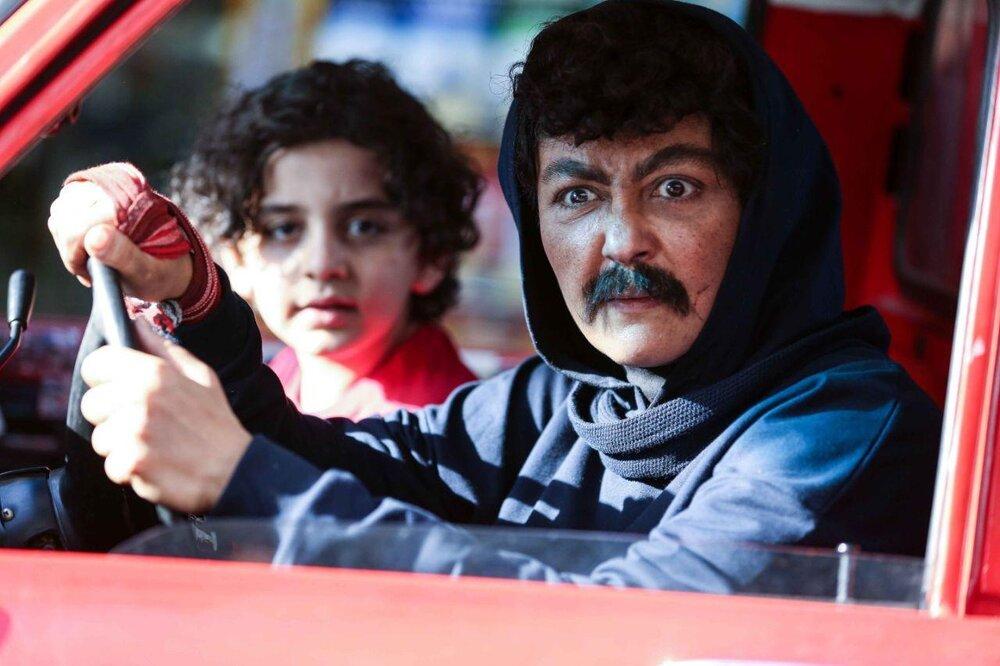 تصویر   شقایق فراهانی با گریم مردانه در فیلم جدیدش