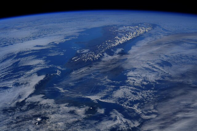 پس از طلوع خورشید بر فراز نیوزیلند!