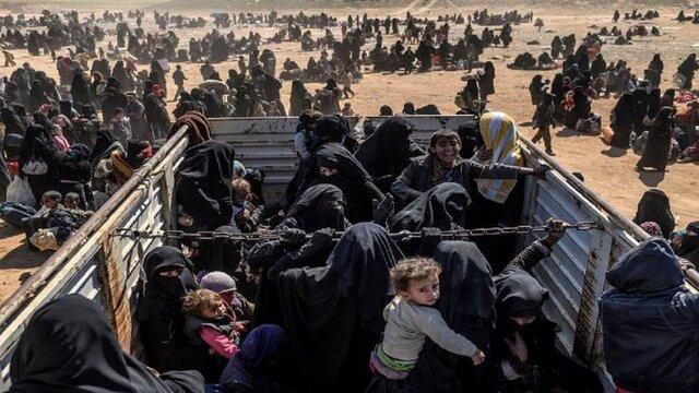 تلاش زنان داعشی اردوگاه الهول برای فرار ناکام ماند