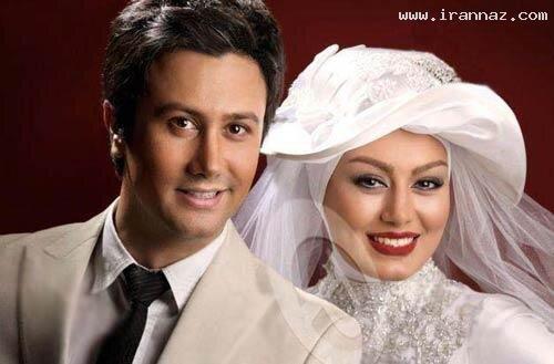 تصاویر   بازیگران سینمای ایران در لباس عروسی و دامادی