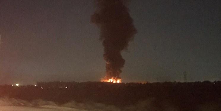 شهردار اسلامشهر: آتش سوزی کارخانه میهن مهار شد/ حادثه تلفات جانی نداشت