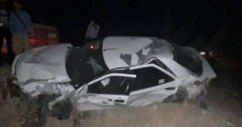 تصادف مرگبار در زاهدان/ ۱۱ نفر کشته شدند