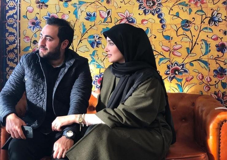 عروسی و طلاق  جنجالی آناشید حسینی با فرزند سفیر ایران در دانمارک +تصاویر