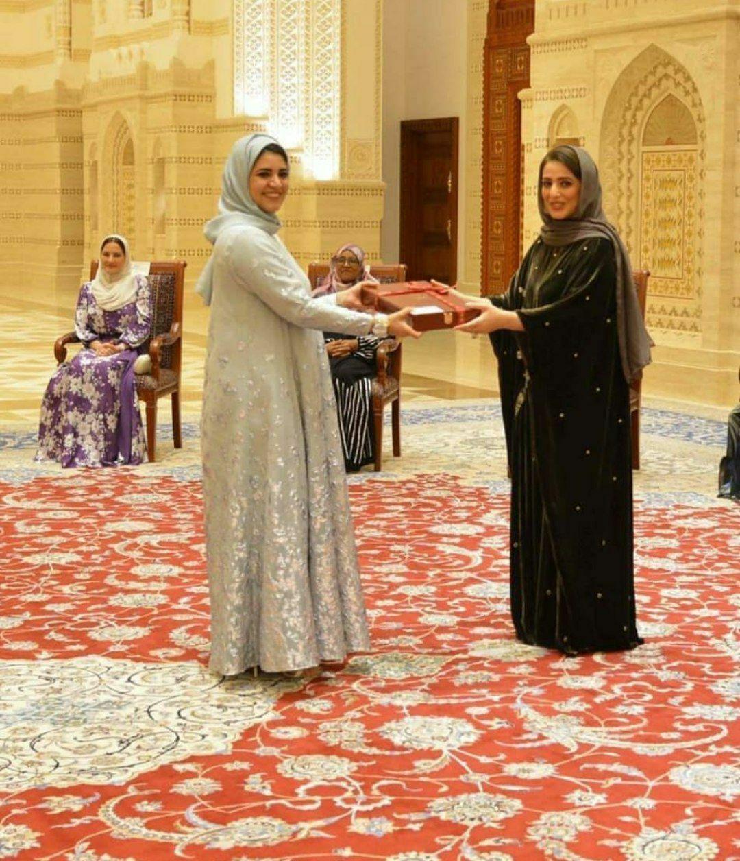عکس| پخش تصویر همسر سلطان عمان برای اولین بار