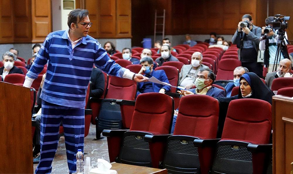 تصاویر| ششمین جلسه دادگاه محمد امامی و ۳۳ متهم دیگر