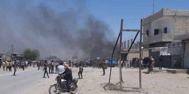 انفجار خودروی بمبگذاری شده در راس العین سوریه