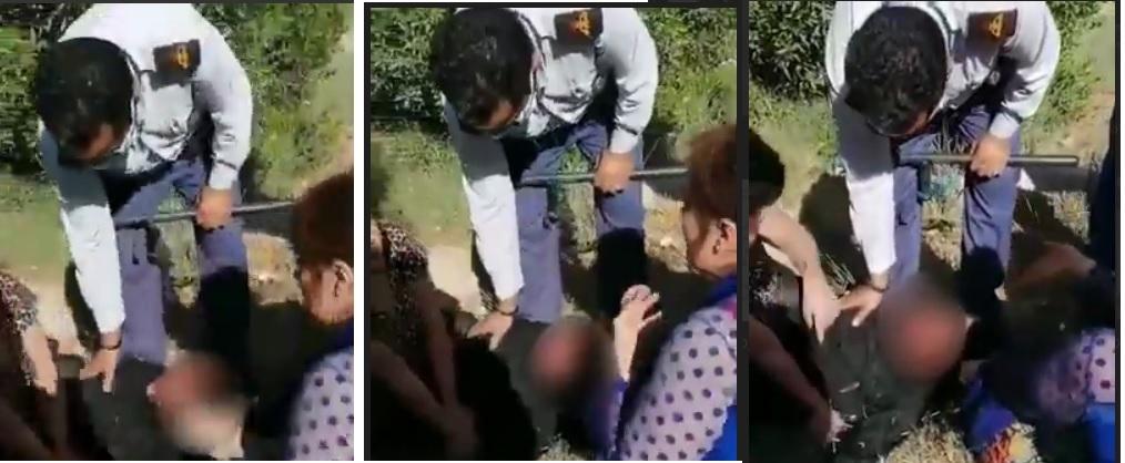 عکس| جنجال ضرب و شتم زن جوان در آبادان؛ ماجرا چه بود؟