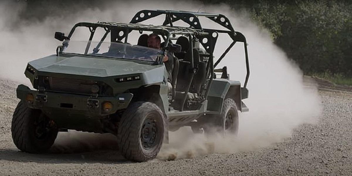 تصاویر| رونمایی ارتش آمریکا از خودروی جدید