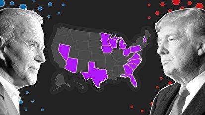 پوشش لحظه به لحظه نتایج انتخابات آمریکا؛ بایدن پیشتاز است