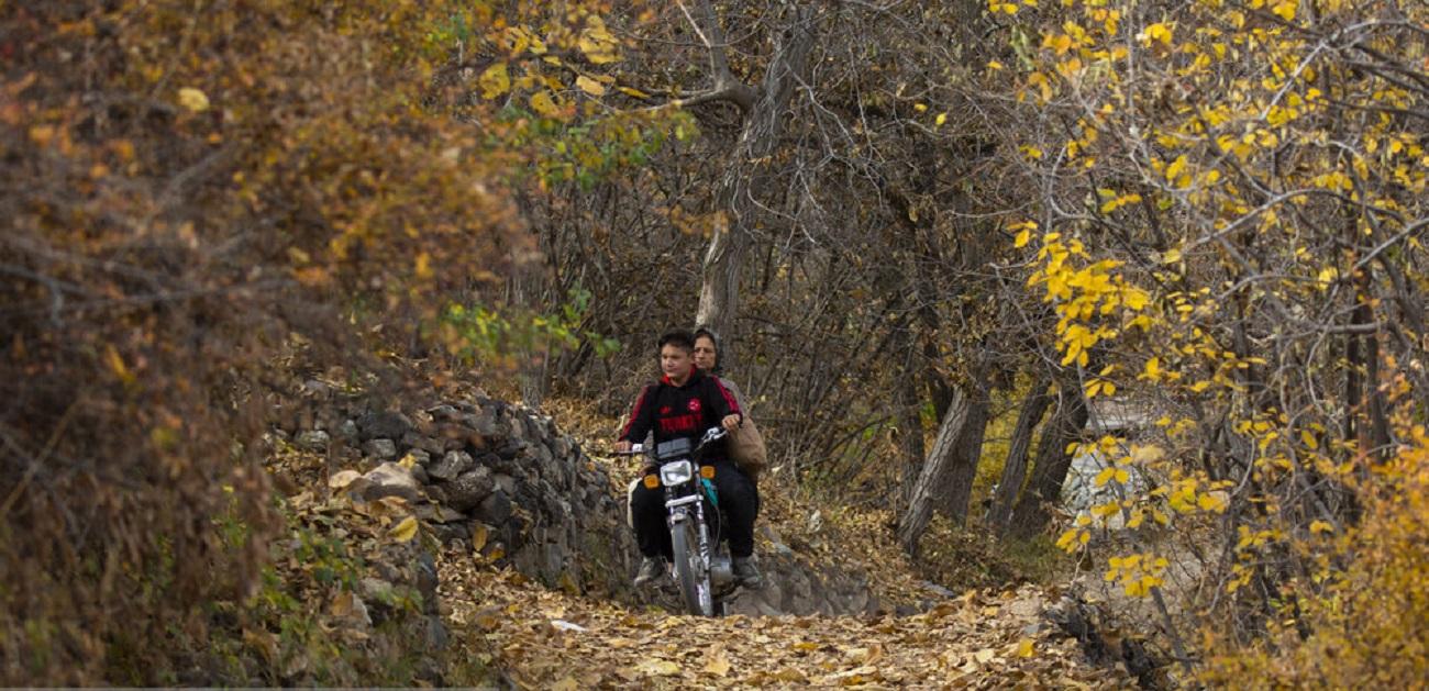 تصاویر| پاییز در روستای سه هزار ساله کهندان