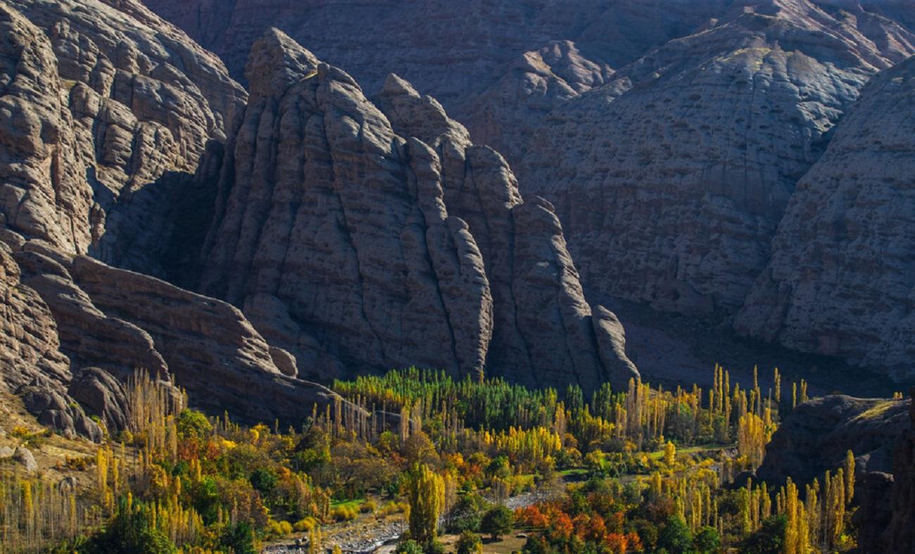 تصاویر| از طبیعت پاییزی دامنههای الموت لذت ببرید