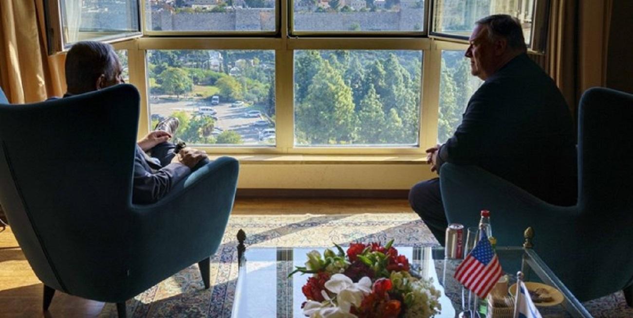 پامپئو: با نتانیاهو درباره مقابله با ایران صحبت کردم
