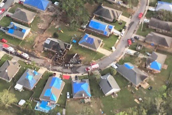 سقوط هواپیمای نیروی دریایی آمریکا در آلاباما / ۲ تن کشته شدند