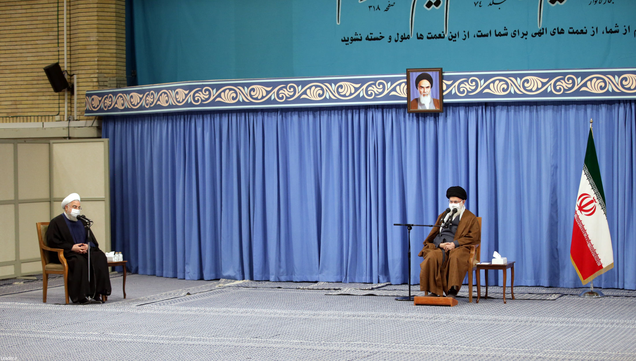 انتقاد شدید رهبر انقلاب از حمله به روحانی؛ انتقاد با هتک حرمت تفاوت دارد| هتک حرمت حرام است