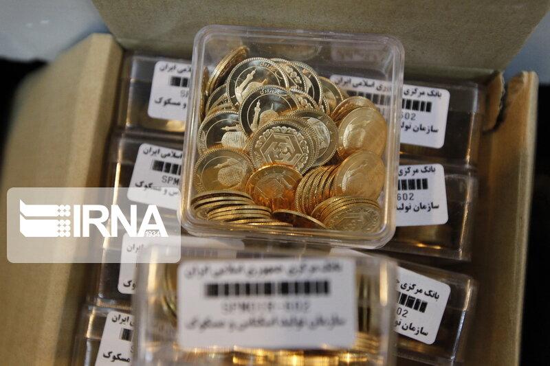 افت ۴۰۰ هزار تومانی قیمت سکه