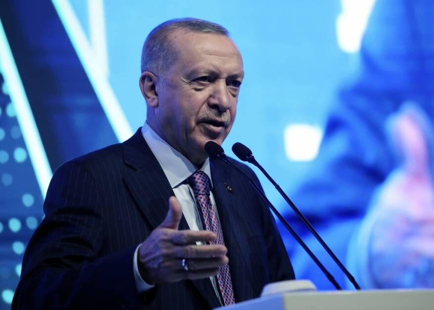 اردوغان: امیدوارم فرانسه از شر مکرون خلاص شود