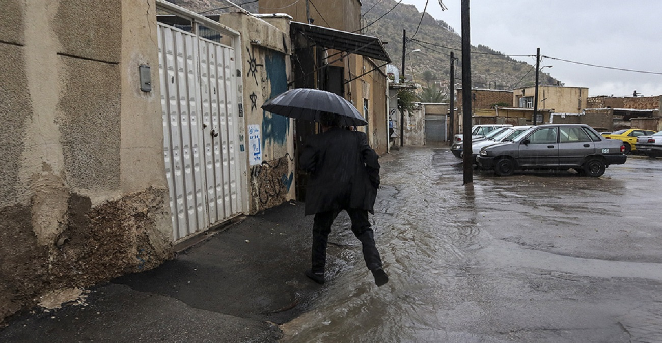 تصاویر| سیل در شیراز
