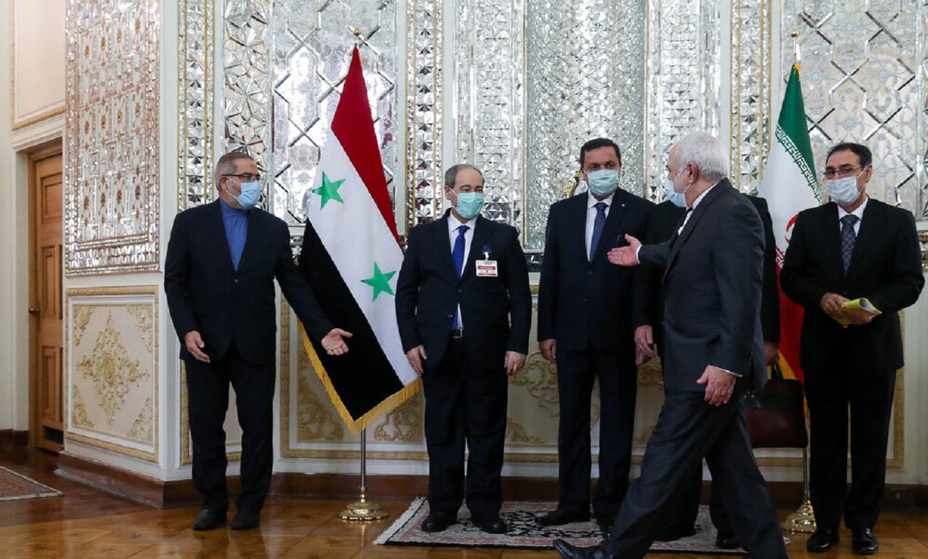 تصاویر| دیدار وزرای خارجه ایران و سوریه
