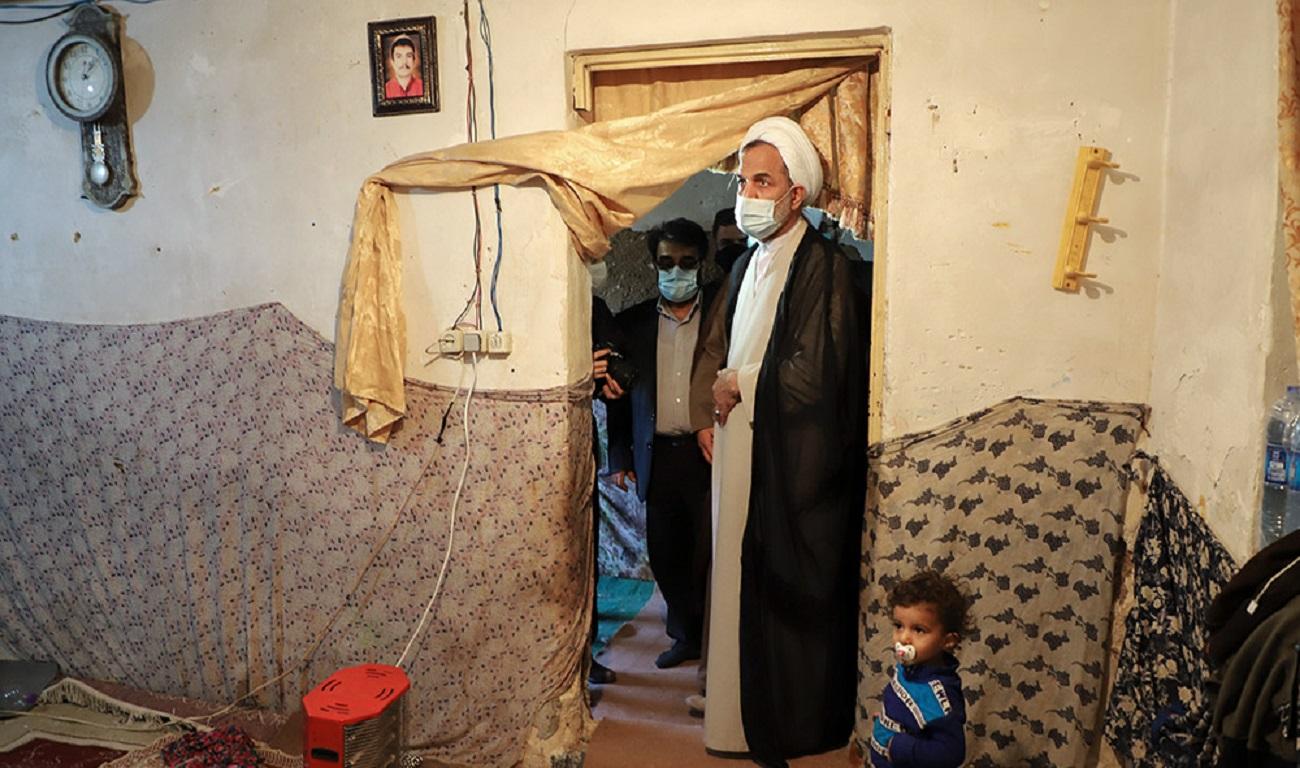 تصاویر| بازدید رییس سازمان بازرسی از مناطق سیلزده خوزستان