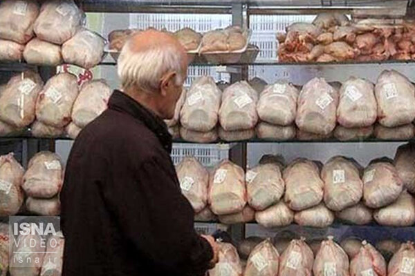 افزایش قیمت مرغ در بازار؛ هر کیلو ۳۳ هزارتومان