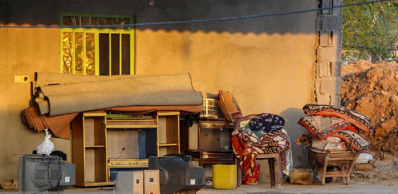تصاویر| آوارگی مردم دشتستان بوشهر بعد از سیل