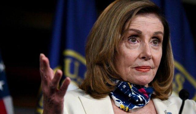 نانسی پلوسی برای ریاست مجلس نمایندگان با فاصله اندک آراء مواجه است