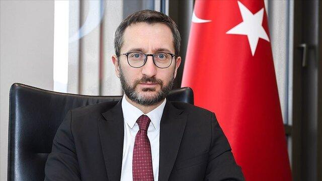 تلاش مسئول ارتباطات ریاست جمهوری ترکیه برای توجیه شعرخوانی اردوغان