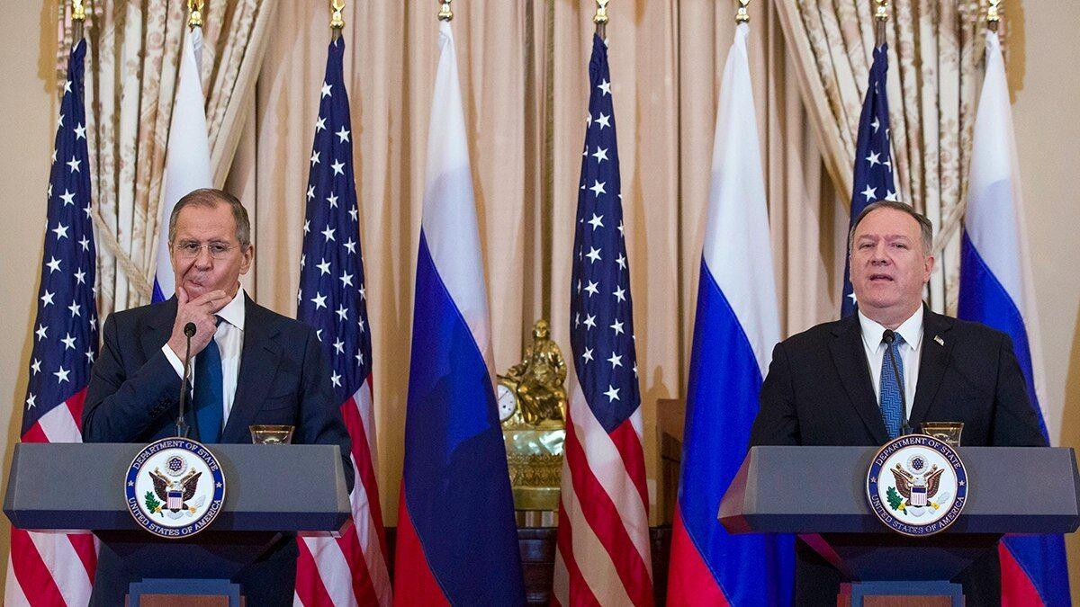 انتقاد پمپئو از اظهارات لاوروف علیه واشنگتن