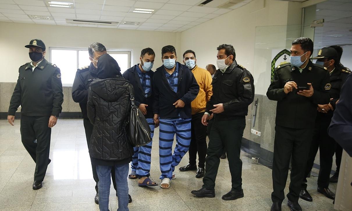تصاویر| دستگیری زورگیران خشن