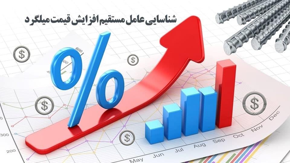 شناسایی عوامل مستقیم افزایش قیمت میلگرد