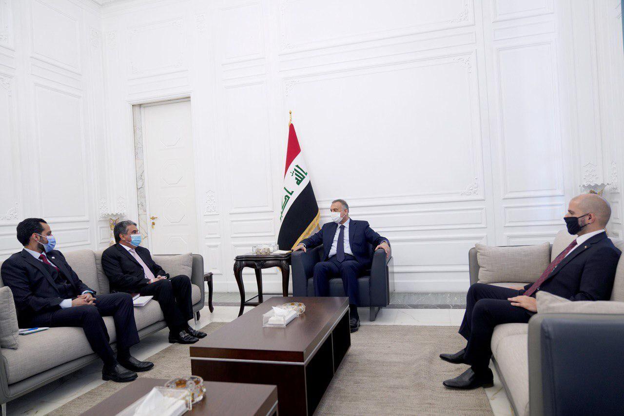 دعوت الکاظمی از نخستوزیر کویت برای سفر به بغداد