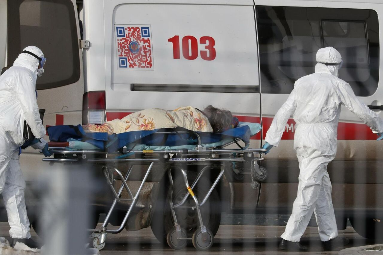 مرگبارترین روز کرونایی در روسیه رقم خورد