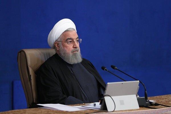 واکنش روحانی به شکست ترامپ: چند هفته دیگر قلدرها به زبالهدان ریخته میشوند