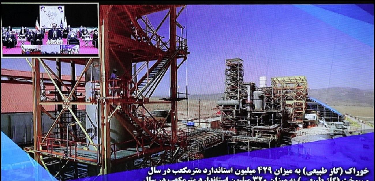 تصاویر  مراسم بهرهبرداری از ۳ طرح ملی وزارت نفت
