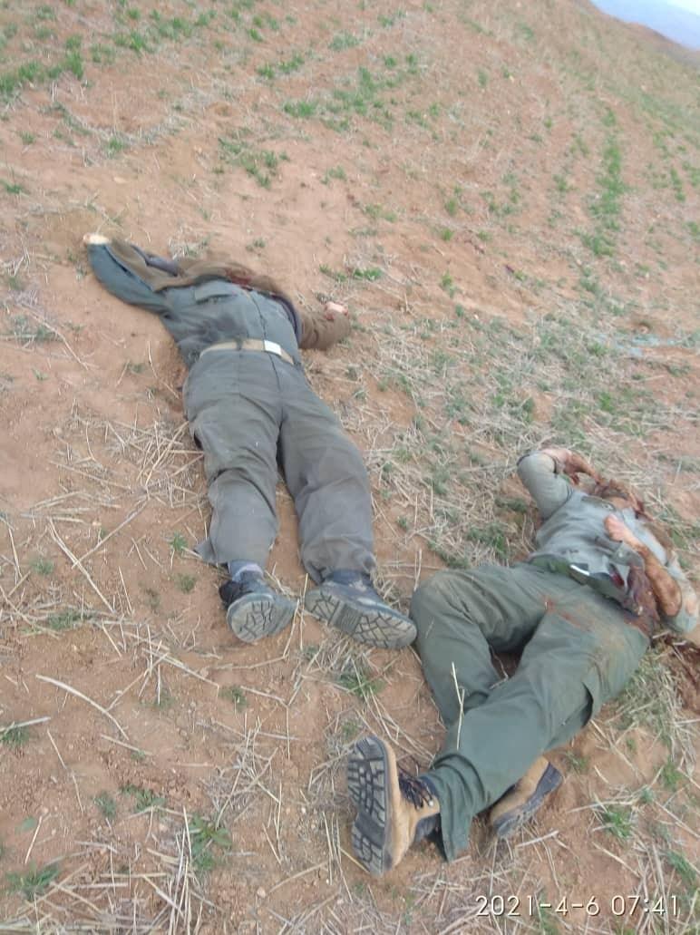 عکس| قتل دو محیطبان در زنجان