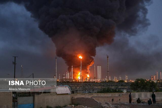 جزئیات تازه از آتشسوزی در پالایشگاه نفت تهران